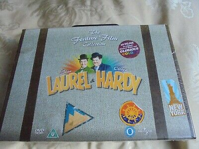 Laurel and Hardy -  The Feature Film Collection -  (DVD 10-Disc Box Set)
