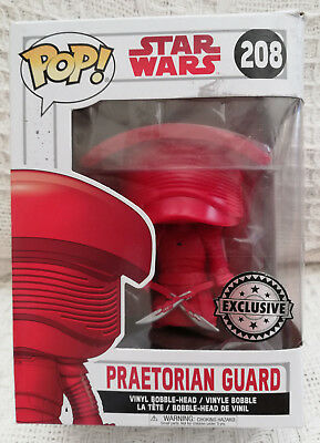 New Funko Pop! Star Wars Episode VIII The Last Jedi Praetorian Guard Bobble Head