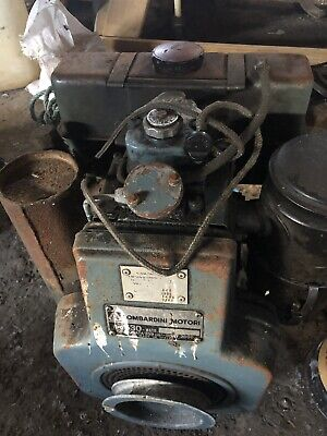 Lombardini 530 diesel Engine with hydraulic pump