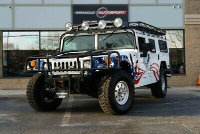 2002 Hummer H1  Low mile free shipping warranty clean carfax custom paint finance collector 4x4