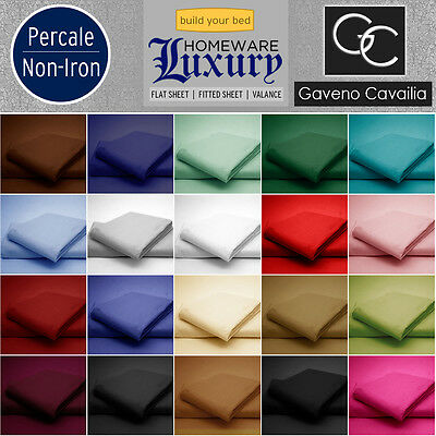 High Quality 180 TC Sheet Percale Non-Iron High Quality Fitted Sheet  Flat Sheet