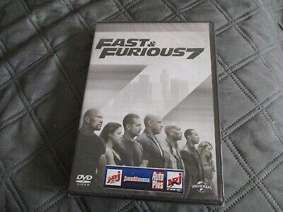 "DVD NEUF ""FAST & AND FURIOUS 7"" Dwayne JOHNSON, Vin DIESEL, Paul WALKER"