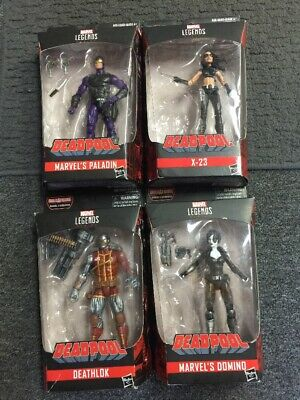 Marvel Legends Mixed Lot of 4 DEADPOOL FIGURES (X-23, Paladin, Deathlok)