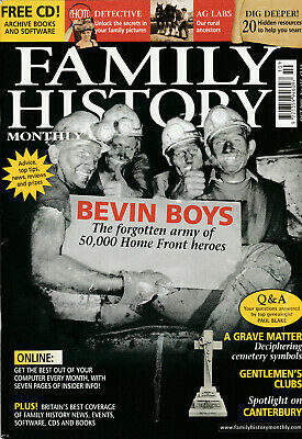 FAMILY HISTORY MONTHLY Magazine October 2006 - Bevin Boys