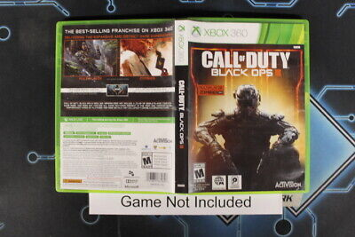 Call of Duty: Black Ops III - Case, Xbox 360 Cases Tested USED