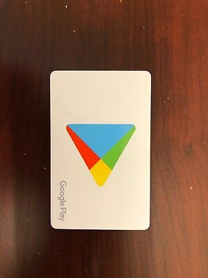 $100.00 Google Play Store Gift Card