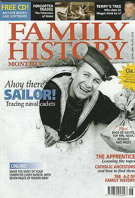 FAMILY HISTORY MONTHLY Magazine June 2006 - Ahoy There Sailor!