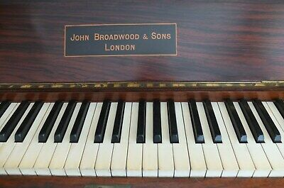 Significantly Reduced - John Broadwood & Sons - Upright Piano - Circa 1904 -