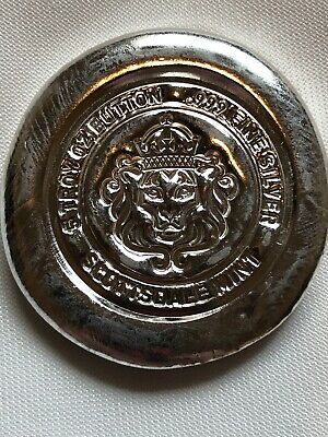 5 oz Hand-Poured Silver Button - Scottsdale - MAGNIFICENT