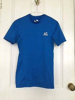 Boy's Sondico Short Sleeve Top, Blue, Size S, Cycling/Rowing/other Sports