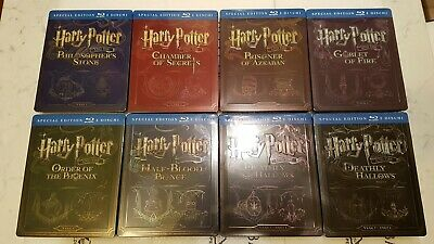 Harry Potter Steelbook 2-Disc Edition Year 1-7 (Blu-ray SteelBook) [Italy]