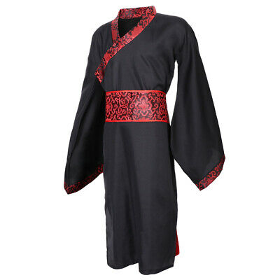 Improved Chinese Hanfu Ancient Han Tang Suit Robe Gown Cosplay Costume Men