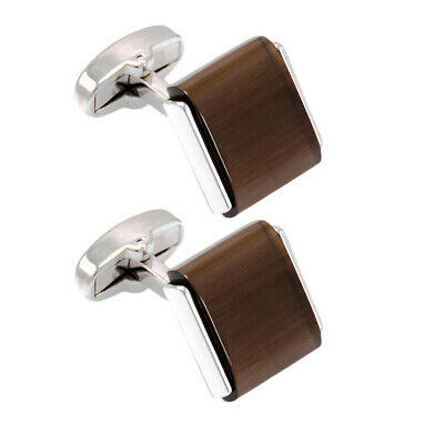 Solid Brass French Tuxedo Shirt Cufflinks for Mens Wedding Father's Day Gift