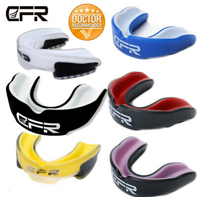 CFR Teeth Protector Mouth Guard Rugby Boxing Basketball Gum Sheild Protection P