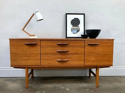Vintage 1960s Avalon Teak Sideboard. Danish Retro G Plan. DELIVERY AVAILABLE
