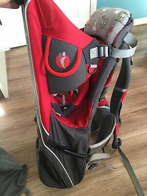 Little Life Outdoor Baby Carrier - Red and Black