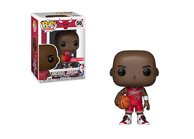 Funko Pop! NBA Chicago Bulls Michael Jordan Rookie Jersey #56 Target DAMAGED