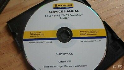 NEW HOLLAND T4 75 Powerstar Tier 4B Tractor Service Repair