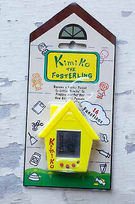 BNMIP Tamagotchi Style Kimiko The Fosterling Yellow