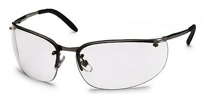 Uvex Winner Clear 9159-105 Safety Spectacles / Glasses - Metal Frame