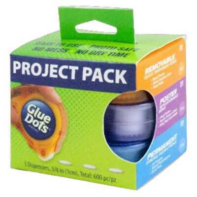 NEW Glue Dots Project Pack By Spotlight