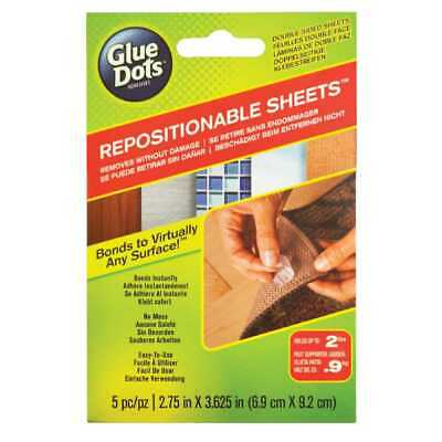 NEW Glue Dots Repositionable Sheets By Spotlight