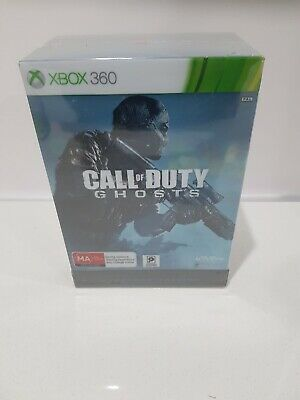 Xbox 360 Game Call of Duty Ghosts Hardened Edition NEW SEALED