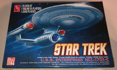 AMT Star Trek USS Enterprise NCC-1701-C plastic model kit new 661
