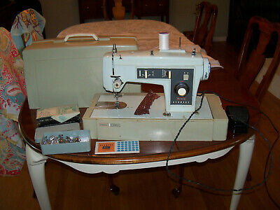 Vintage Sears Kenmore 148.13022 1302 Heavy Duty All-Metal Sewing Machine w/Case