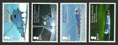 British Antarctic 2013 Halley Vi Research Station Set Mnh