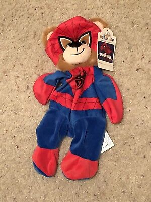 Build a Bear Marvel Spider-Man Plush Unstuffed New W/Tags Retired Discontinued