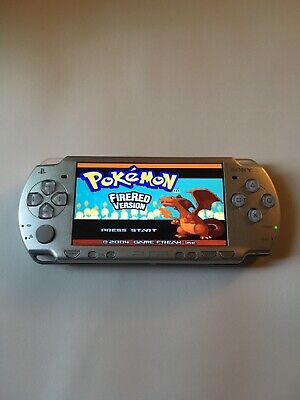 SONY PLAYSTATION PORTABLE PSP 1001 Black Handheld Video Game System