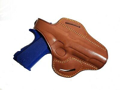 OWB BUTTERFLY PANCAKE Concealed Carry Leather Belt Holster