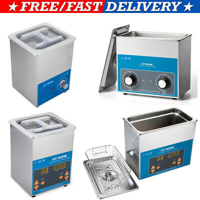 Digital Ultrasonic Cleaner Sonic Wave Jewellery Glass Cleaning Industrial Grade
