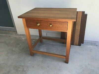 Solid Oak table / desk / side table / tv stand