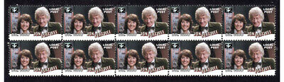 Jon Pertwee Doctor Who Tv Icon Strip Of 10 Mint Vignette Stamps 1