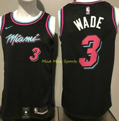 competitive price 7ab10 6d13a DWYANE WADE MIAMI Heat Vice Edition Nike Swingman Jersey XL ...