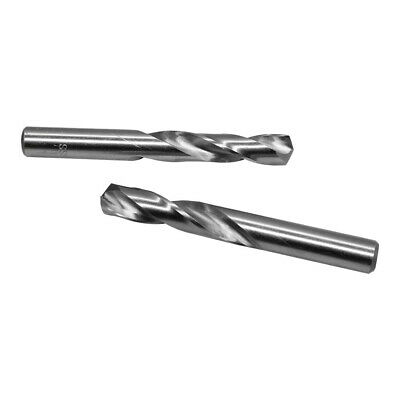 2 PC 8.6 mm Twist Straight Shank Flute Screw Machine Standard HSS Drill Bit