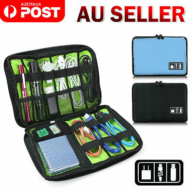 Travel Digital Electronic Accessories Case Cable USB Drive Insert organizer bags