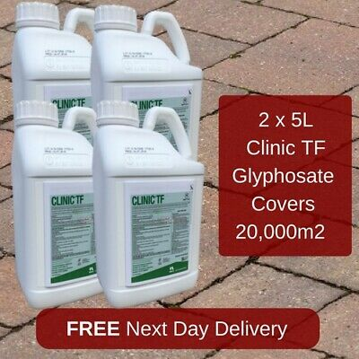 NON HAZARDOUS CLINIC UP 5L WEEDKILLER NEW VERSION OF CLINIC ACE x4