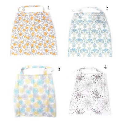 Breastfeeding Cover Baby Infant Breathable Cotton large Muslin nursing cloth FO