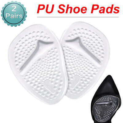 2pair//lot Cloth Foot Care Cushion High Heel Insoles Anti-Slip Half Shoe Pads YT
