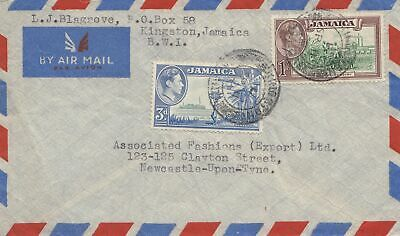 Jamaica: air mail kingston to Newcastle-Upon Tyne; fashions export
