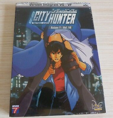Dvd Dessin Anime Manga Nicky Larson City Hunter Saison 1 Vol 10 Neuf Sous Cello