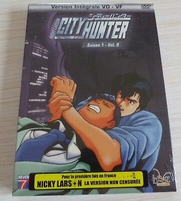 Dvd Dessin Anime Manga Nicky Larson City Hunter Saison 1 Vol 9 Neuf Sous Cello