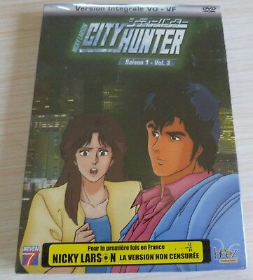Dvd Dessin Anime Manga Nicky Larson City Hunter Saison 1 Vol 3 Neuf Sous Cello
