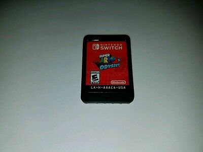 Super Mario Odyssey (Nintendo Switch 2017) CARTRIDGE ONLY PREOWNED BIN FREE SHIP