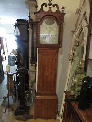 John Thomas Of Worcester 8 Day Grandfather Clock