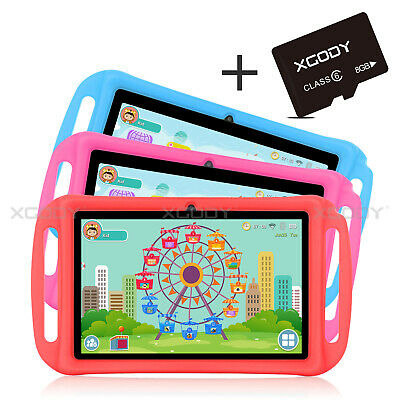 XGODY 8GB/16GB Android 8.1 Oreo 7 Zoll IPS Tablet PC für Kinder Quad Core WLAN