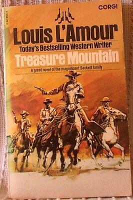 TREASURE MOUNTAIN, Louis L'Amour, UK pb 1979 (9780552091916)